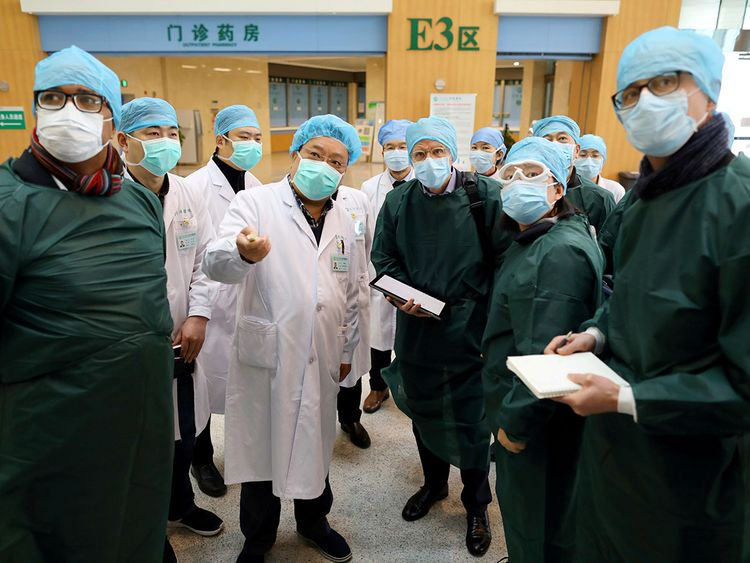 """A Team Of """"WHO""""Experts Arrived In Wuhan"""