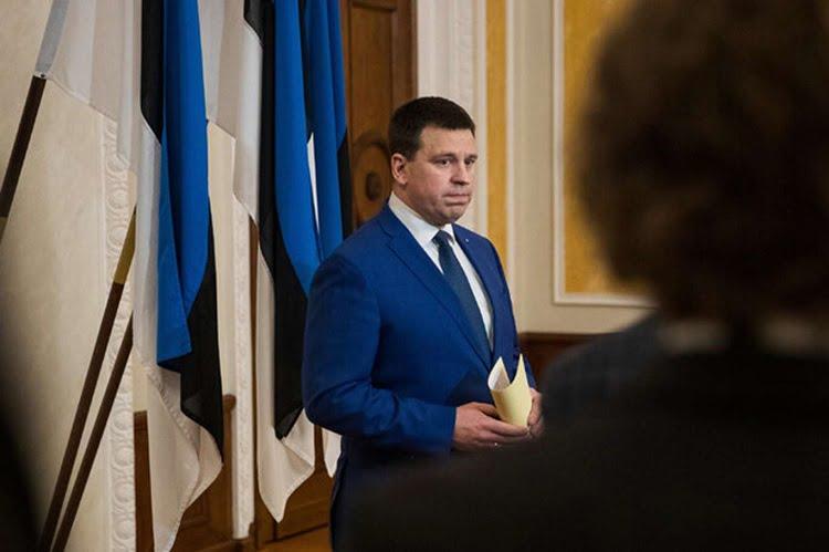 Estonian Prime Minister Resigns