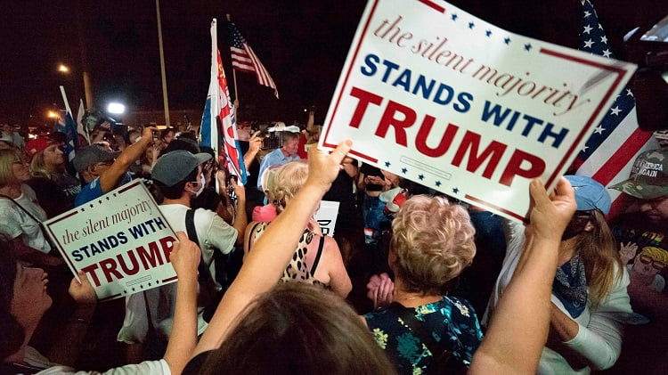 Trump Supporters To Stay Calm