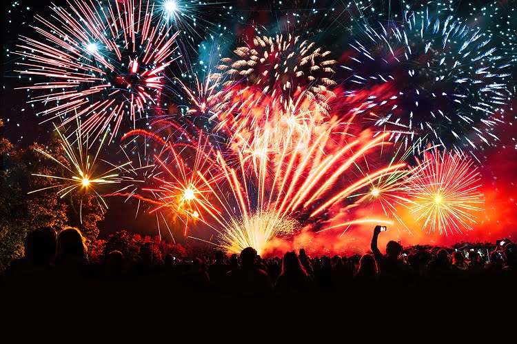 How can you be safe from fireworks?